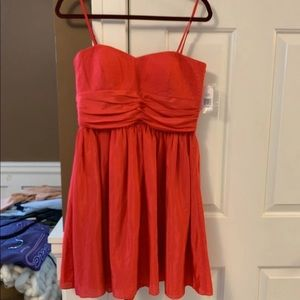 Strapless pink Jessica Simpson dress
